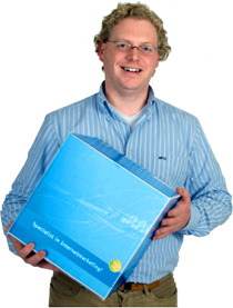 Alex van Ginneken, auteur van De Blauwe Doos, 17 boeken over internet marketing